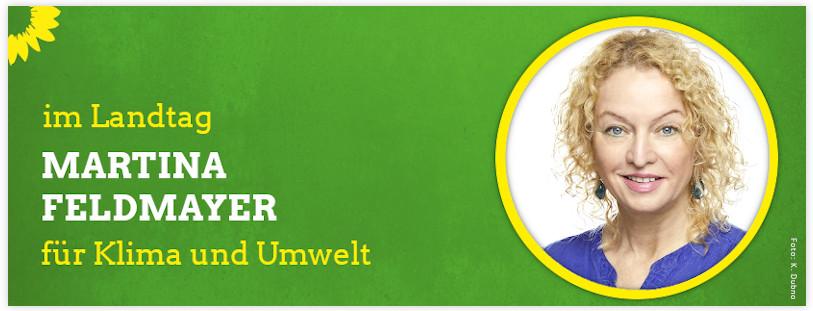 Martina Feldmayer Mitglied des Landtages Sprecherin für Klimaschutz und Umweltschutz